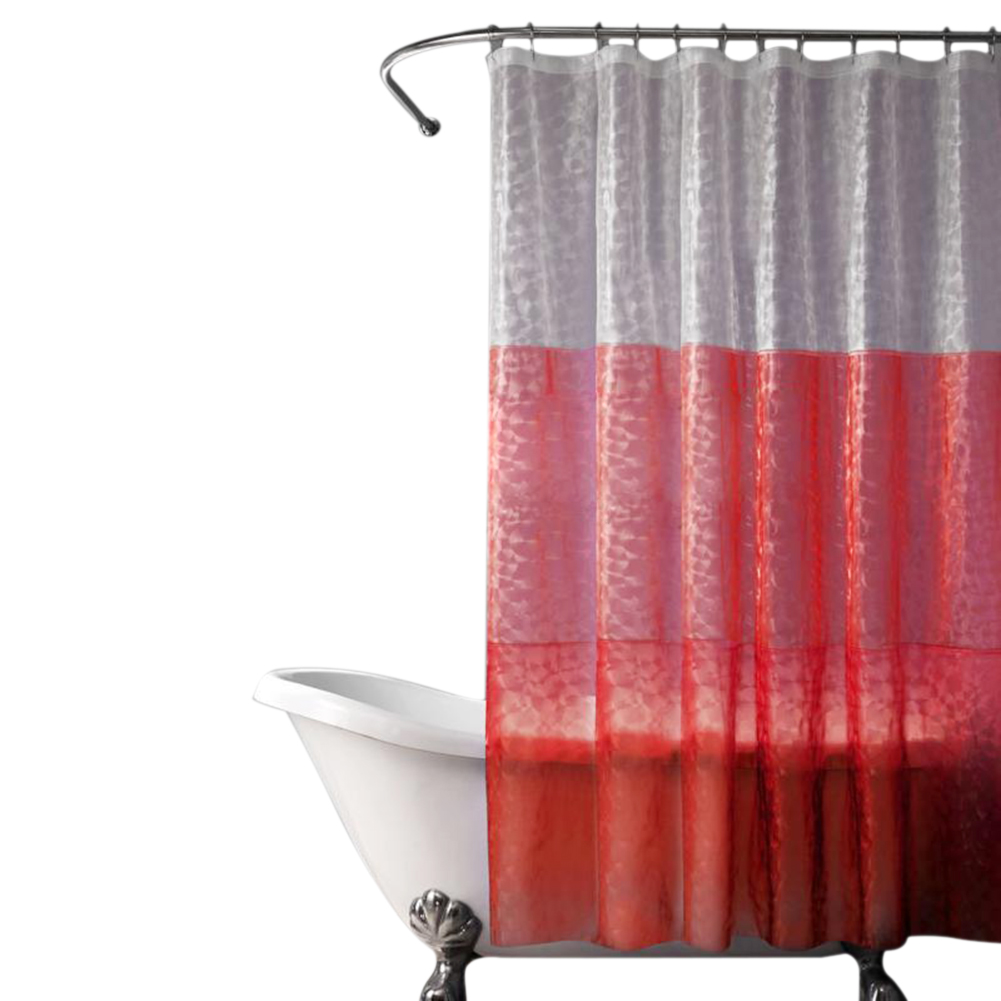 Mildew proof shower curtain