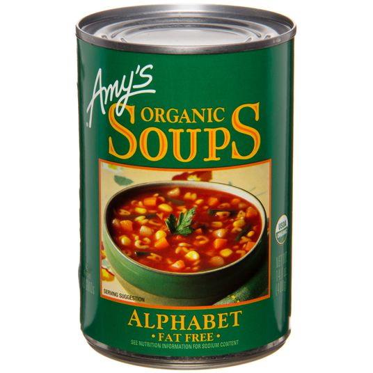 Amy's Alphabet Soup, Organic, GY309