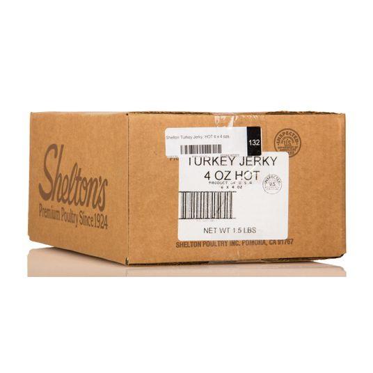 Shelton Turkey Jerky, HOT, GY408