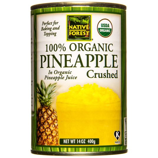 Native Forest Pineapple Crushed, Organic, GY661