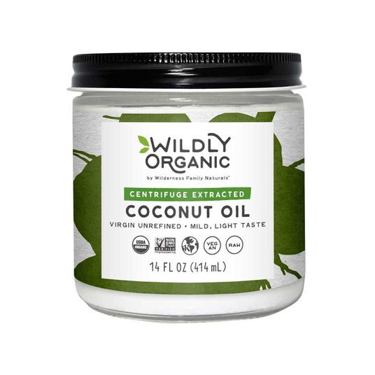 Wilderness Family Naturals Coconut Oil(Centrifuged), Organic, OL096
