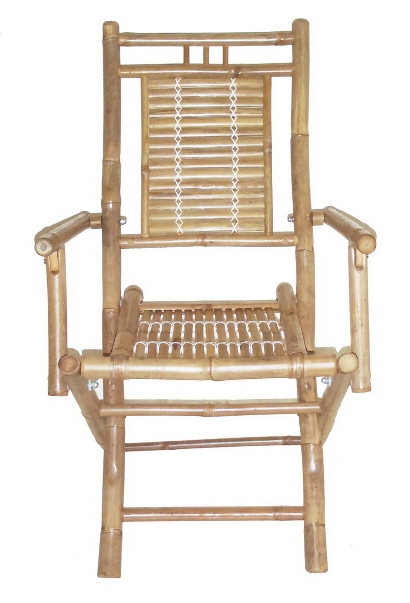 Opentip Bamboo54 5108 Bamboo folding chairs with arms
