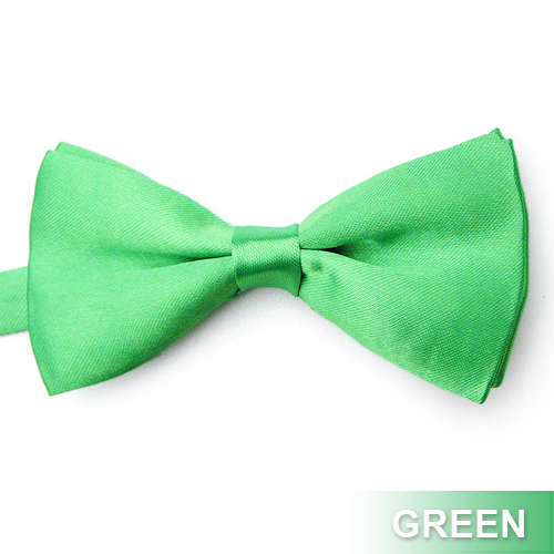Wholesale Lot 50 Pcs Men's Formal Solid Color Satin Bow Tie