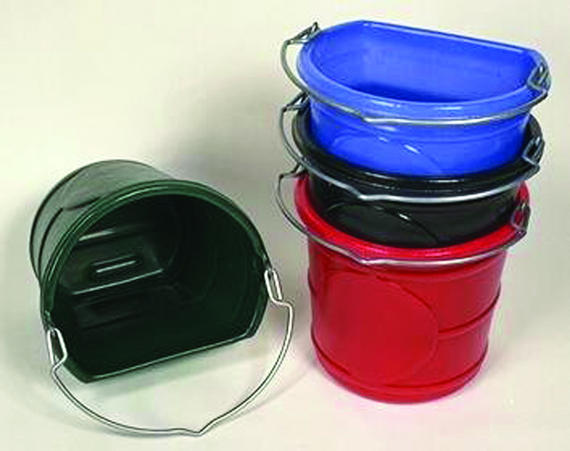 Horsemen S Pride Flat Back Bucket Red / 20 Quart - 004