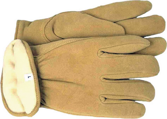 Boss Thinsulate Deerskin Glove Tan / Large - 4186L