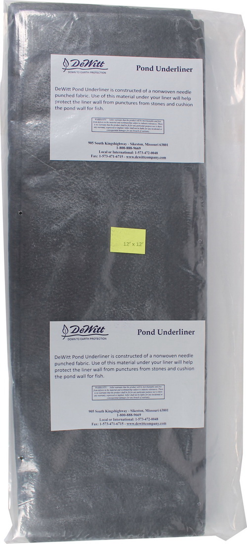 Dewitt Pond Underliner - 12X12 Foot