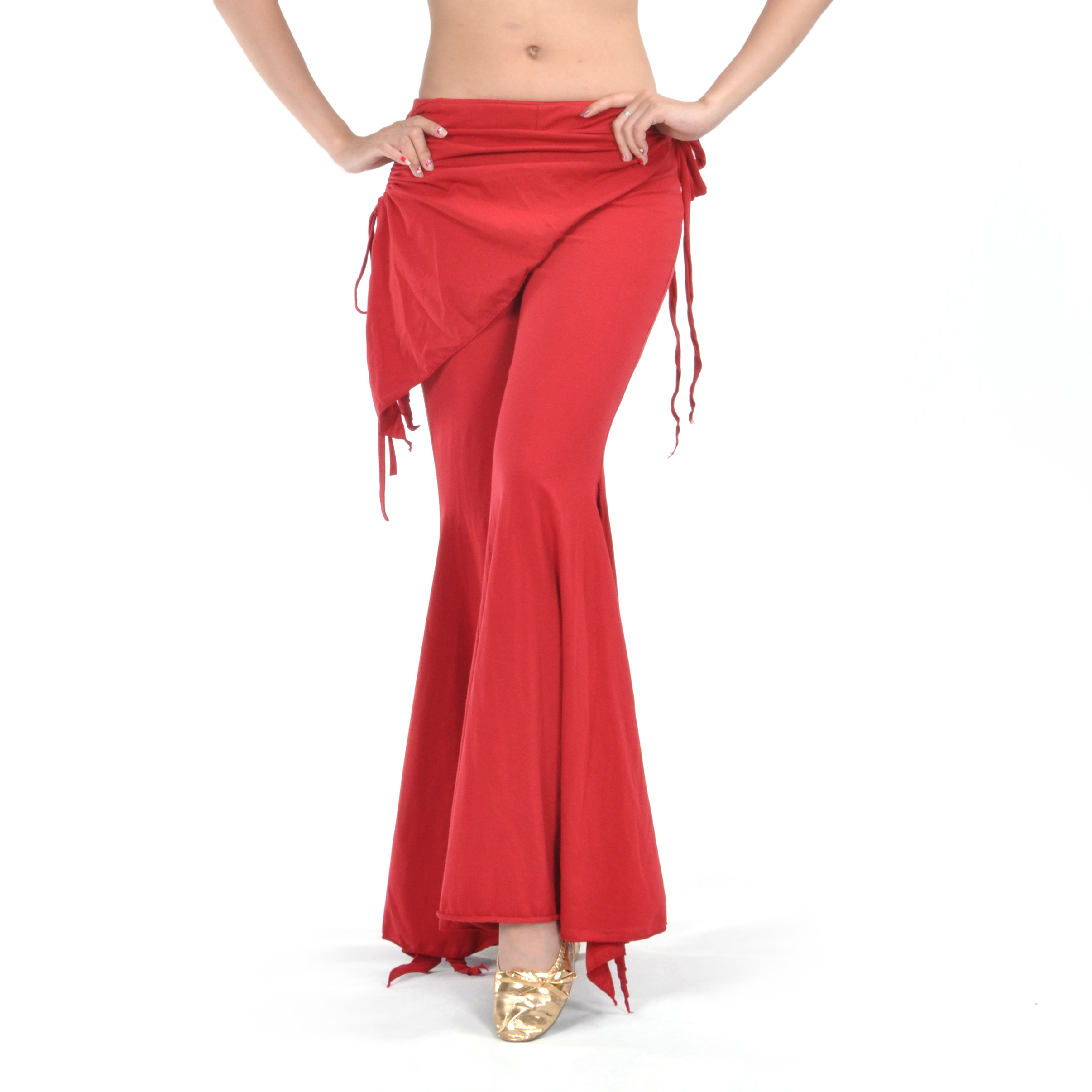 BellyLady Belly Dance Tribal Costume Pants, Yoga Pants, Valentine's Gift Idea