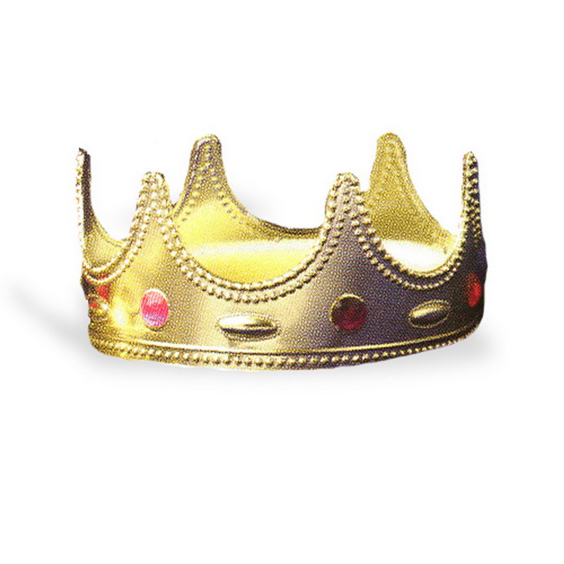 Forum Novelties 25137 Regal Queen Crown, Display Size: One-Size