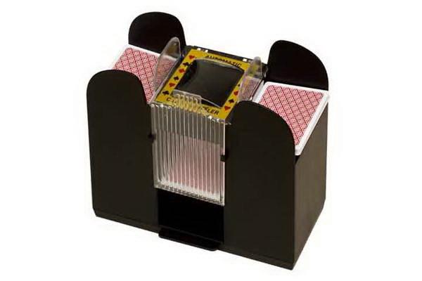 chh 4 deck card shuffler