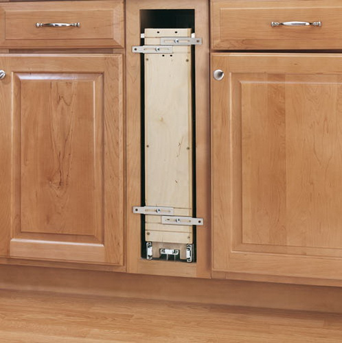 "Rev-A-Shelf 448-BC19-5C 5"" Base Organizer (19"" Depth) With Adjustable Shelves For 9"" Full Height Base Cabinet"