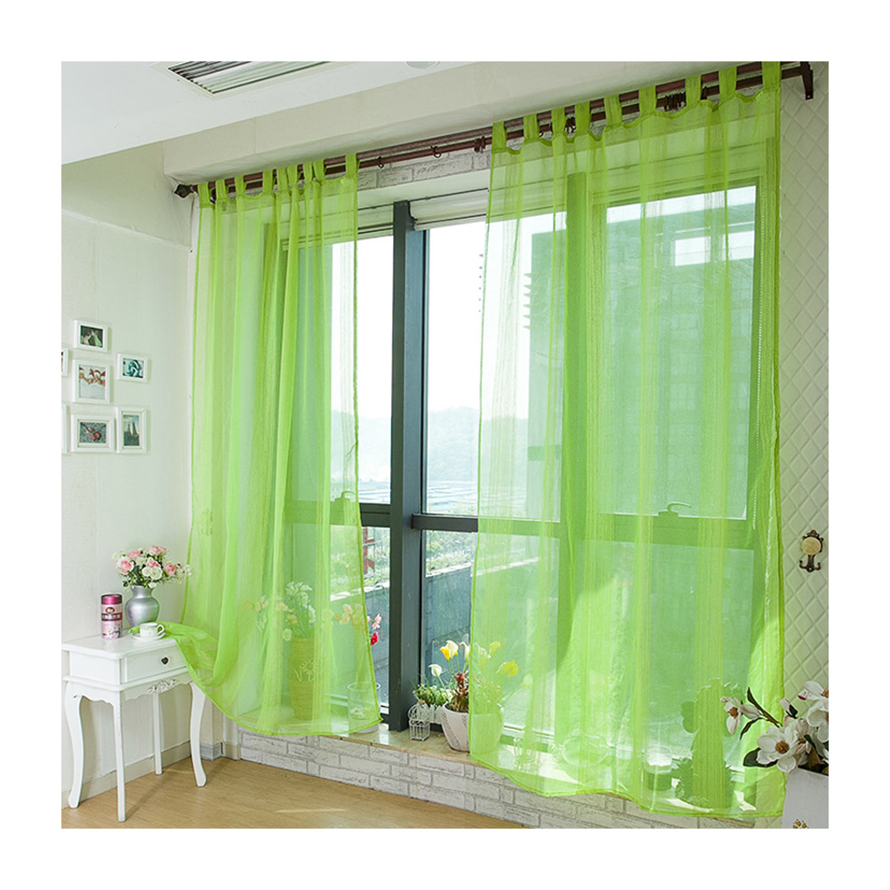 Aspire 4 Pcs Sheer Window Curtains Tab Top Curtain Panels 55 1 By 96 4 Inch