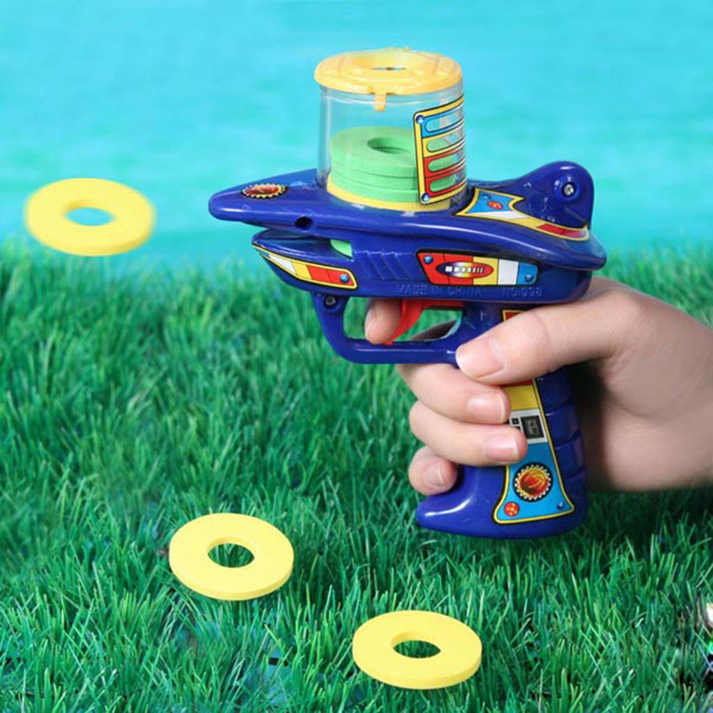FIC Disk Shooter / Shooting Gun, Outdoor Toys, Graduation Gift