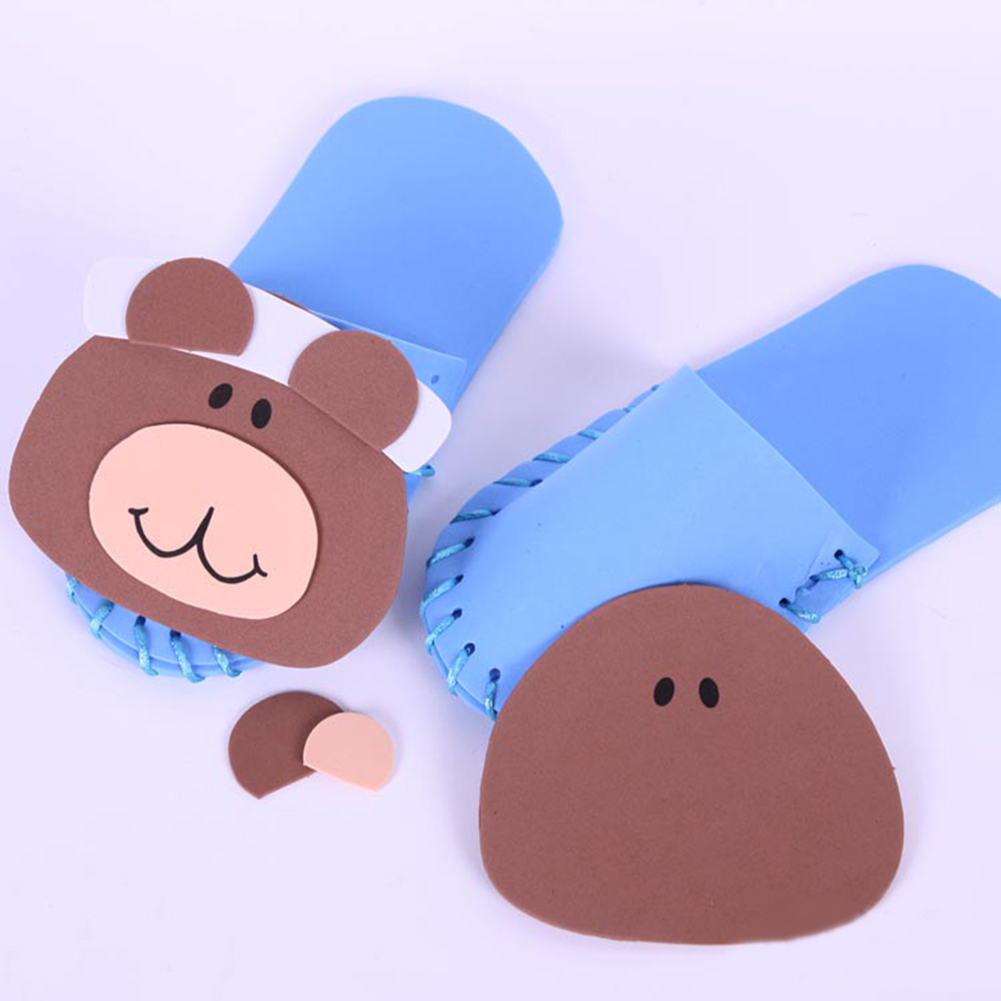 GOGO Design Your Own! Lovely Bear Slippers