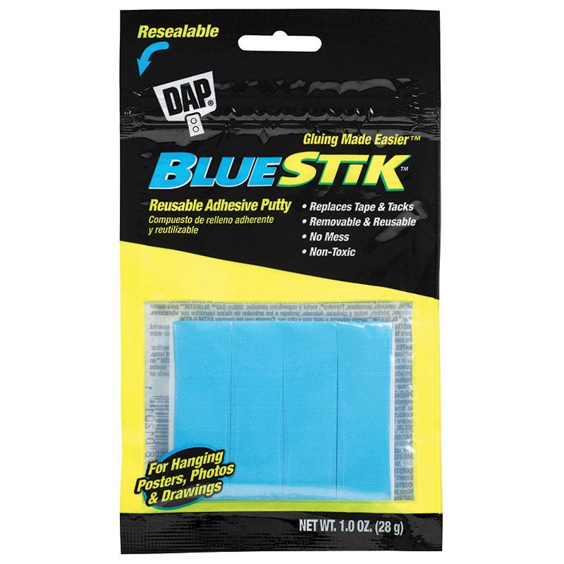 Dap DAP01201 Bluestik Reusable Adhesive