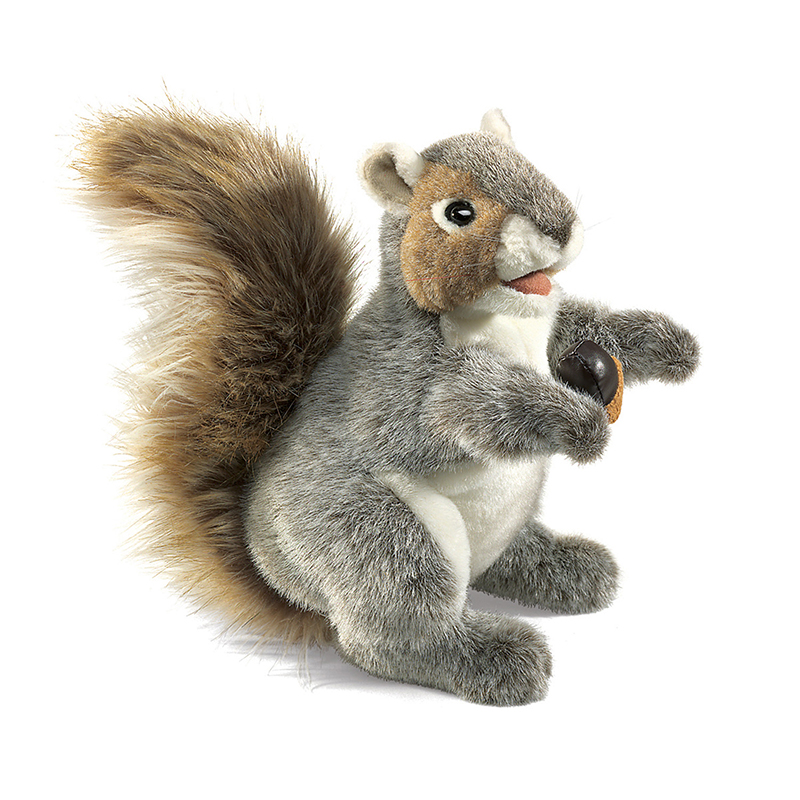 Folkmanis FMT2553 Puppet Gray Squirrel
