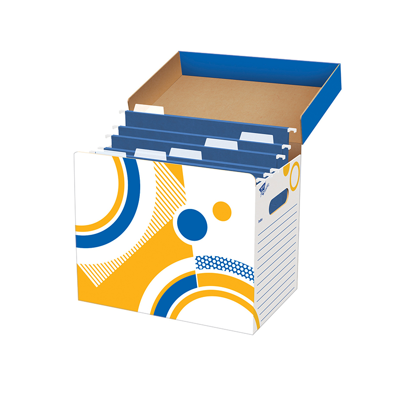 Trend Enterprises T-7001 File N Save System File Folder Box 12 X 8 X 10
