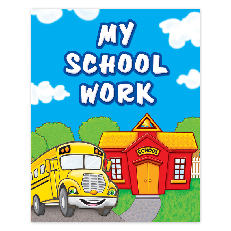 Teacher Created Resources TCR4939 My School Work Pocket Folder
