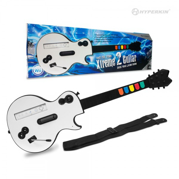DDR Game Nintendo Wii Xtreme 2 Wireless Guitar Controller