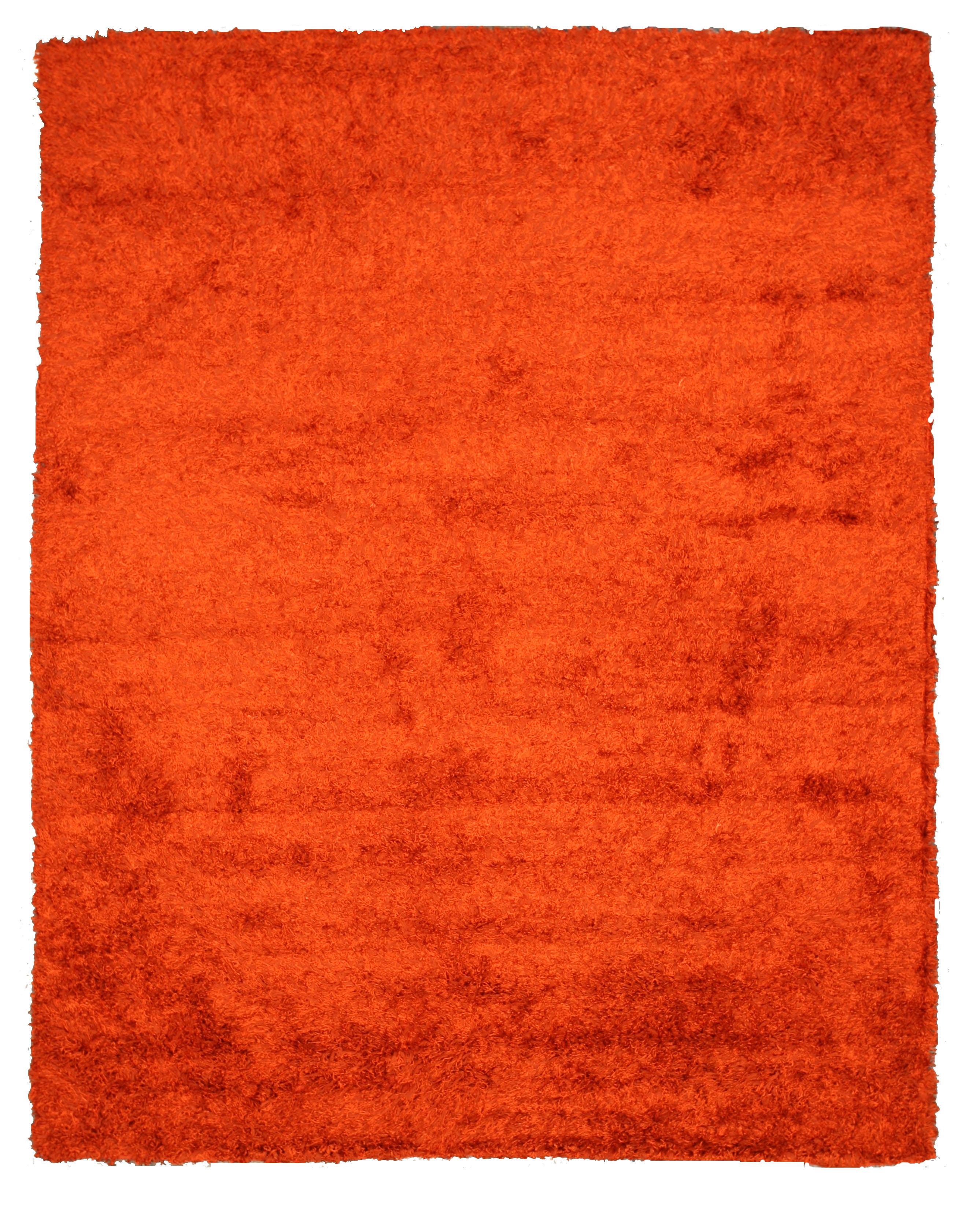 Opentip.com: EORC OSHG1RT8X10 Orange Handmade Wool And