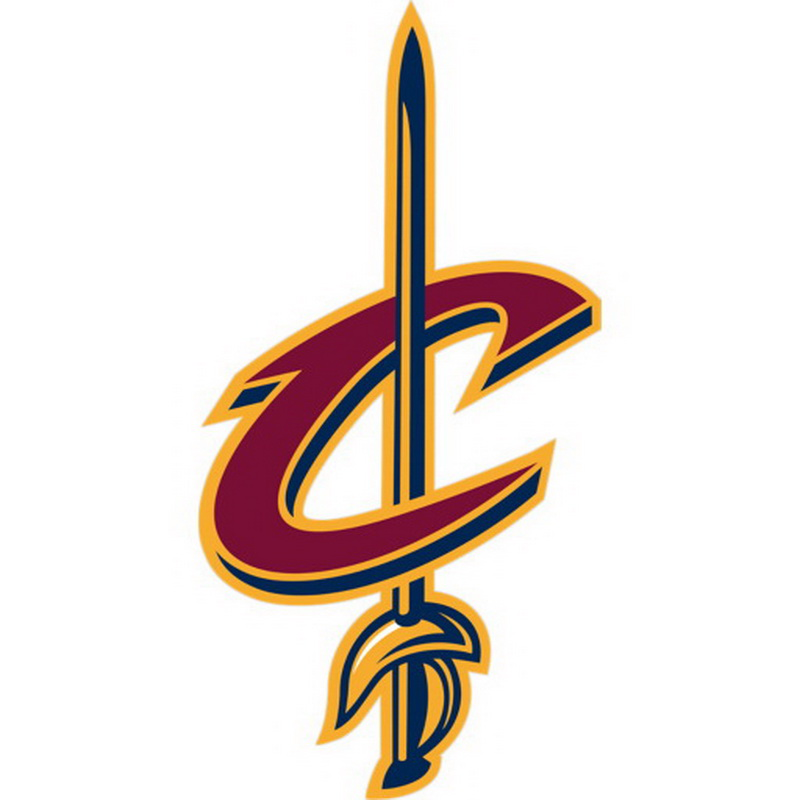 Opentip.com: Fathead 89-02186 Cleveland Cavaliers Sword Teammate Logo