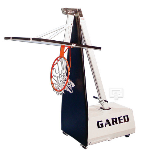 Gared Mini-EZ Roll-Around Portable Basketball System