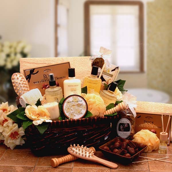 Spa Therapy Relaxation Gift Hamper, Gift Basket