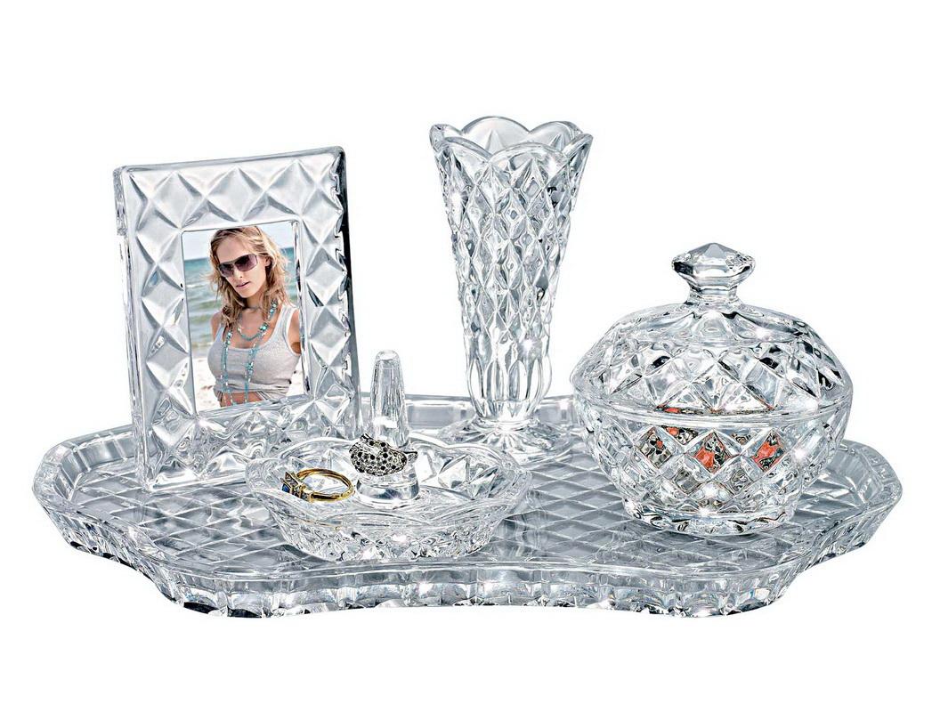 Godinger 028199534946 Shannon Vanity Set