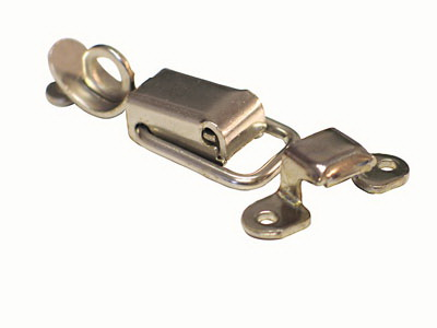 Draw Latch with Hasp Tab NICKEL