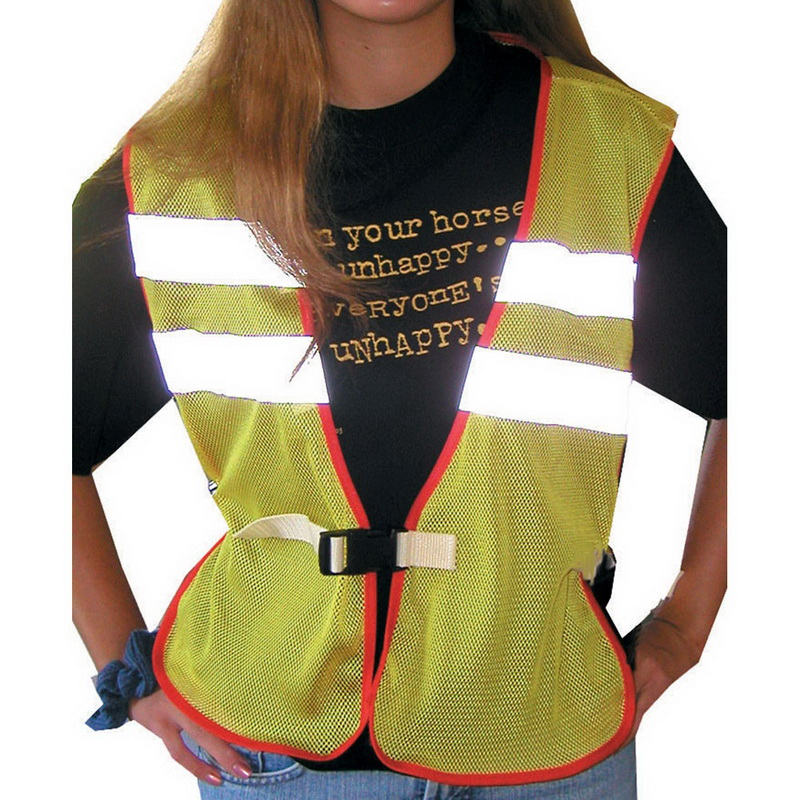 Intrepid International 247501 Reflective Safety Vest