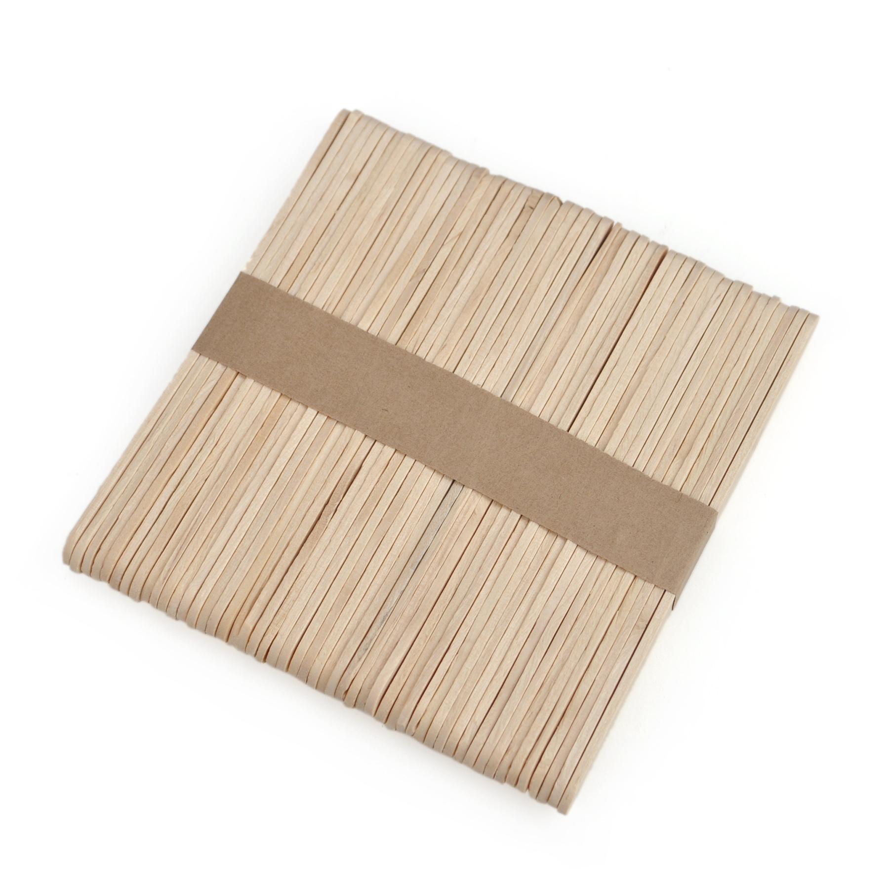 Aspire wood craft sticks popsicle sticks for Wooden craft supplies wholesale