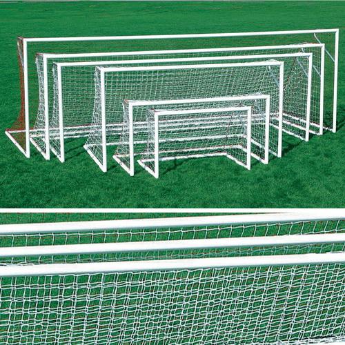 Kwik Goal Dlx Pntd European Club Goal-4'H x 6'W x 2'D x 4 1/4'B