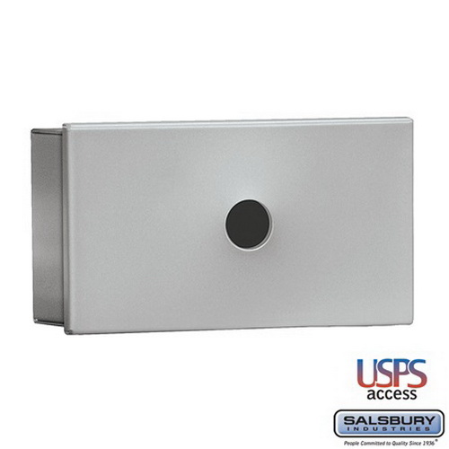 Salsbury Industries 1080AU Key Keeper - Aluminum - Surface Mounted - USPS Access