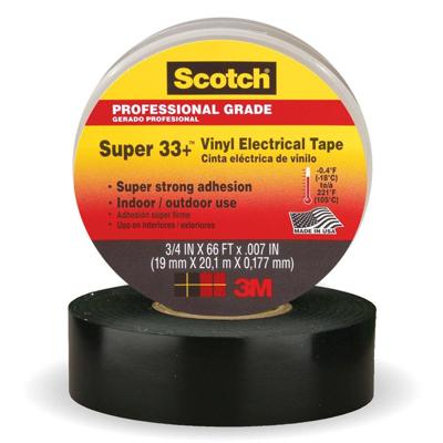 3M 6133 Vinyl Plastic Elec Tape 3/4X52