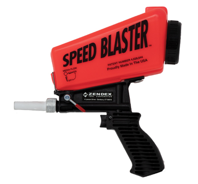 Zendex Tool Speed Blaster-Neon Red