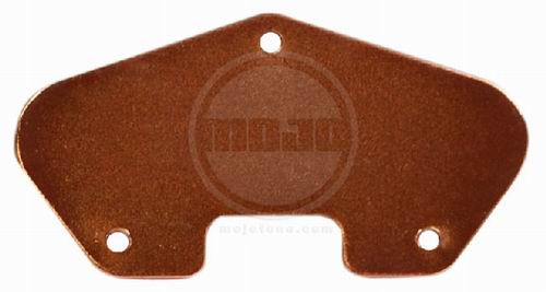 Mojotone Tele Copper Plated Steel Baseplate Vintage Spec