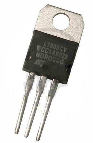 Lm7805 Fixed Regulator To-220 1A 5V Diode