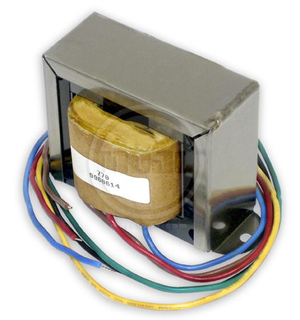 Mojotone MOJ-MOJO770 Black Brown Vibrolux/Tremolux Output Transformer (4/8  Ohm) Sears