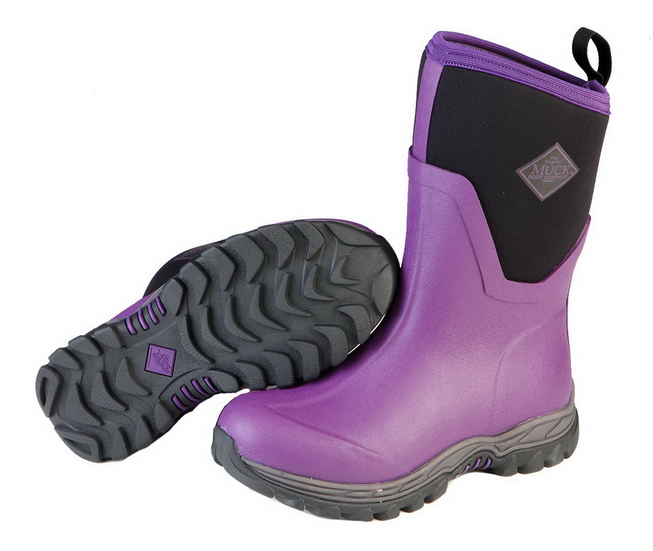 Muck Boots Arctic Sport Mid Womens Snow Boots Purple | Homewood