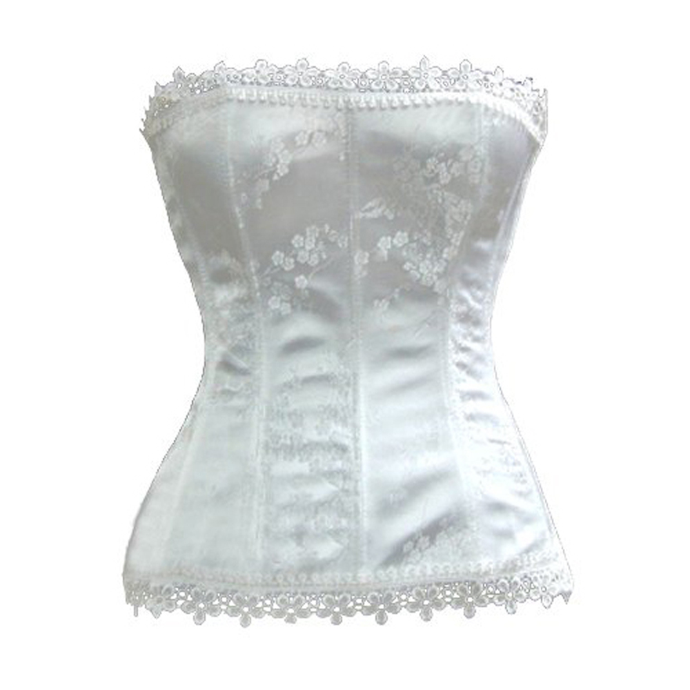Muka Women's Stunning Strapless Ivory Bridal Fashion Corset, Gift Idea