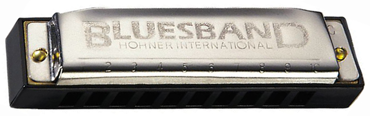 "Hohner 1501 Blues Band Harmonica In ""C"""