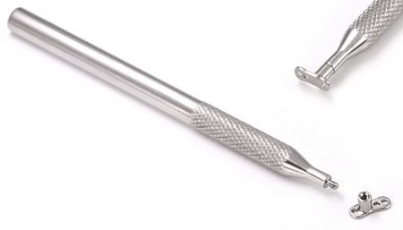 Threaded Tool for 14g - 12g Internally Threaded Dermal Anchors