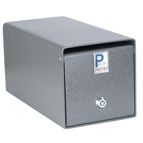 "Protex SDB-101 Drop Box/Tubular Key, 6"" x 6"" x 12"""