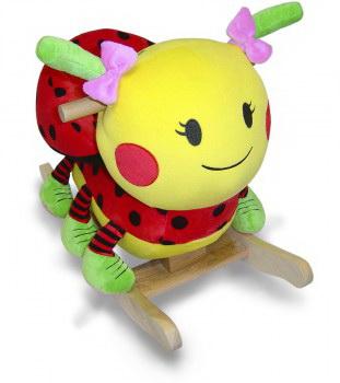 Rockabye 85025 Lulu Ladybug Chair Rocker