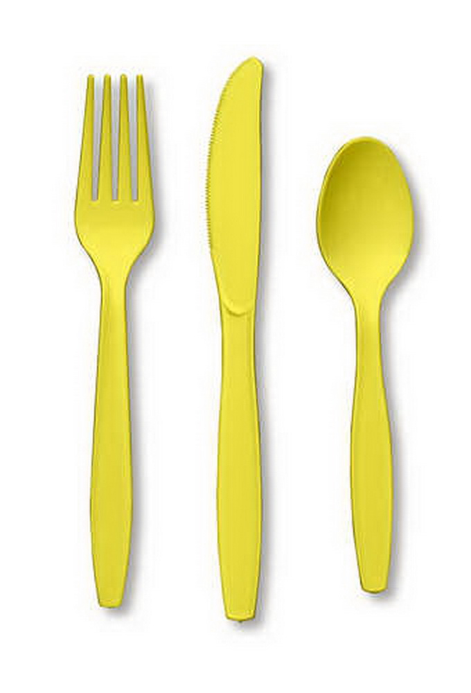 Creative Converting 010432 Mimosa Cutlery (Prem) Cutlery Assortment (12pks Case)