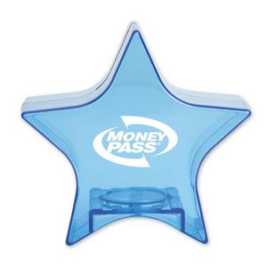 Translucent Blue Star Bank