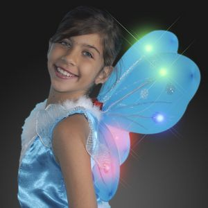 Flashing Blinky Lights Blank Blinking Butterfly Wings, Light Up, Flashing