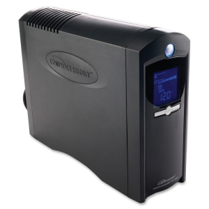 Compucessory 1285VA Tower UPS, 1285 VA/750 W - Tower - 8 - Surge, Spike, Sag, Brownout