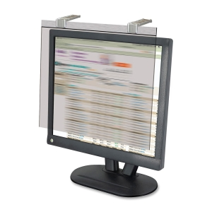 "Kantek KTKLCD19SV Kantek Secure-View LCD19SV Privacy Screen Filter Clear, 20""LCD Monitor"