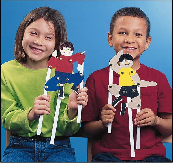 Playful Puppet People Craft Kit