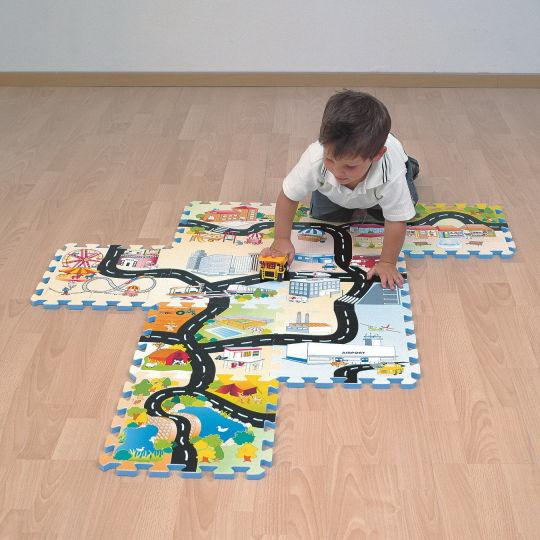 Opentip Com Road Map Puzzle Tile